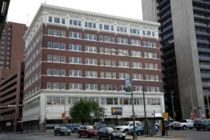 Real estate investment firm Weston Urban has purchased the 100-year-old Rand Building from Frost Bank. Collaborative workspace Geekdom has plans to move into the eight-story building by year's end. Courtesy of Mike Farquhar